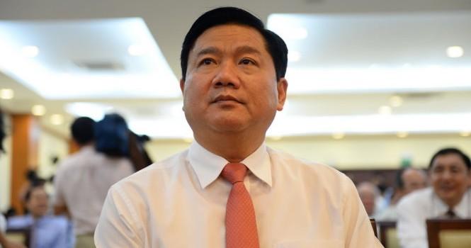 Tạm đình chỉ tư cách đại biểu Quốc hội đối với ông Đinh La Thăng