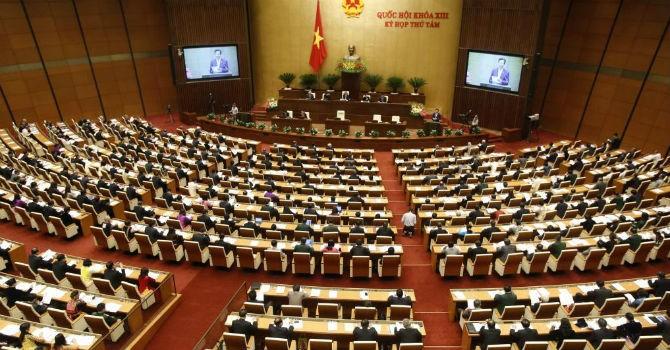 Quốc hội chính thức khai mạc kỳ họp thứ 9