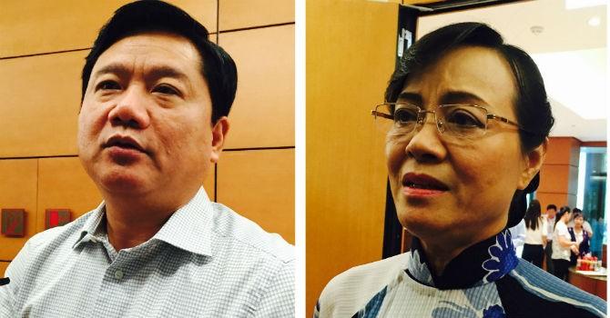 """Thu phí xe máy: """"Khẩu chiến"""" giữa Bộ trưởng Thăng và đại biểu quốc hội"""