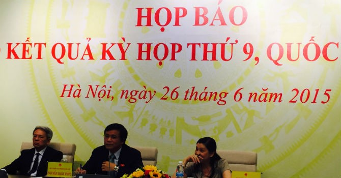 Chủ nhiệm Nguyễn Hạnh Phúc: Đại biểu kiêm nhiệm rất vất vả!
