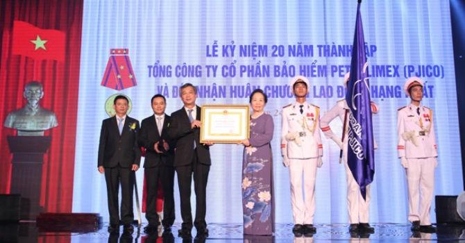 PJICO được trao tặng Huân chương lao động hạng Nhất