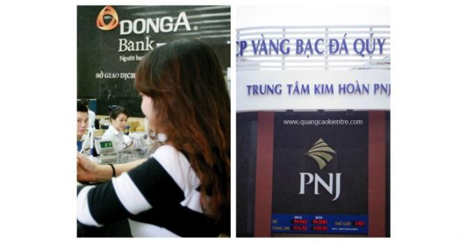 PNJ có thể phải trích lập 95 tỷ đồng cho khoản đầu tư vào DongABank
