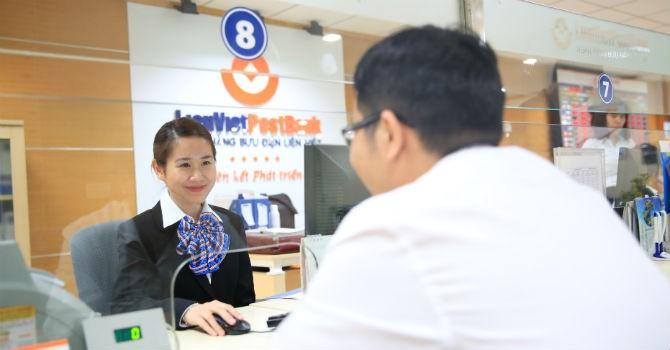 LienVietPostBank: Tăng trưởng tín dụng 21%