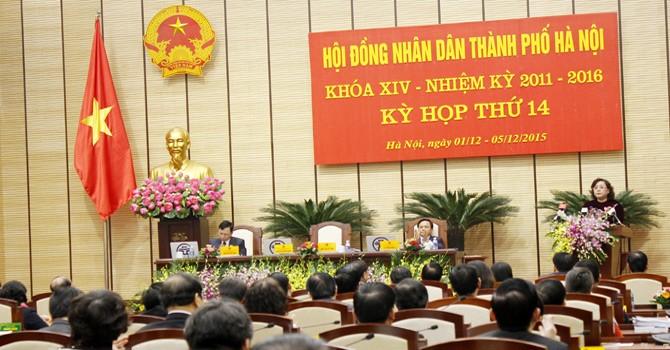 """Hà Nội họp HĐND kỳ 14, khóa XIV: """"GRDP tăng 9,23%, tham nhũng trong lĩnh vực đất đai còn lớn"""""""