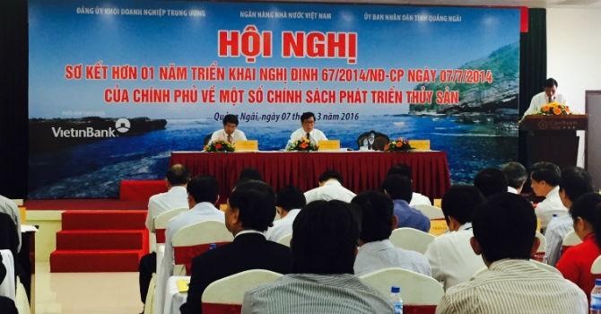 Thống đốc Nguyễn Văn Bình: Cho vay đóng tàu, phải lắng nghe phản ánh của ngư dân