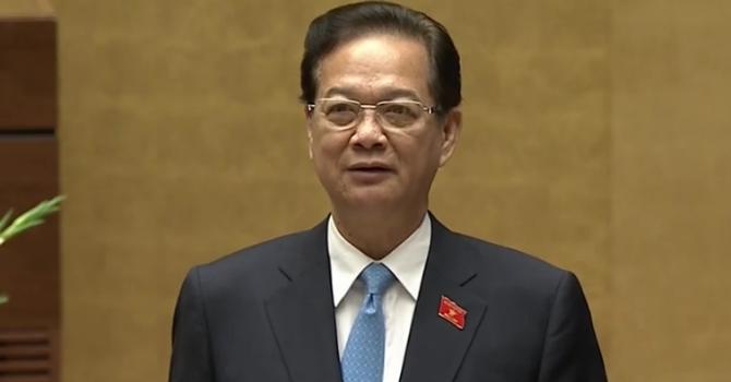 Thủ tướng Nguyễn Tấn Dũng nêu kết quả điều hành kinh tế 5 năm