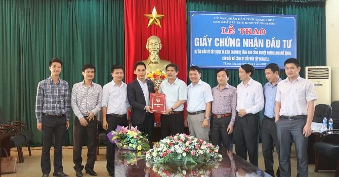 FLC tiếp tục đầu tư trên 2.300 tỷ đồng vào KCN Hoàng Long tỉnh Thanh Hóa