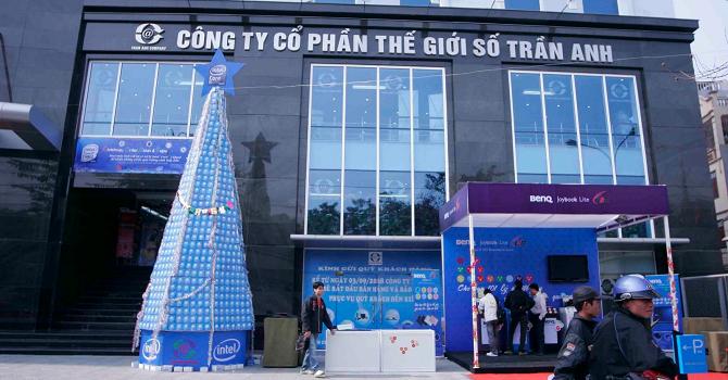 Trần Anh: Lãi quý I bằng lợi nhuận cả năm 2014