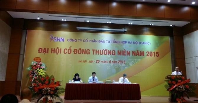 ĐHĐCĐ SHN: Chủ tịch Geleximco Vũ Văn Tiền muốn SHN xóa lỗ lũy kế trong 2015