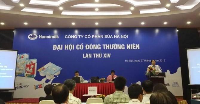 ĐHĐCĐ Hanoimilk: Sẽ có sữa tươi đưa ra thị trường trong năm 2016