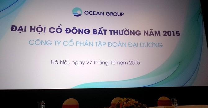 """Chủ tịch HĐQT Ocean Group: """"Mong cổ đông đừng quay lưng"""""""