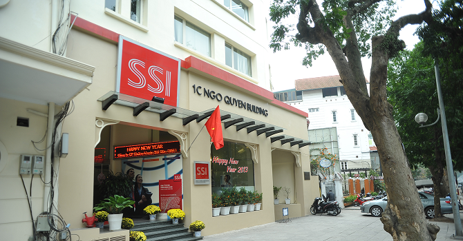 Công ty mẹ SSI lãi hơn 966 tỷ đồng năm 2015