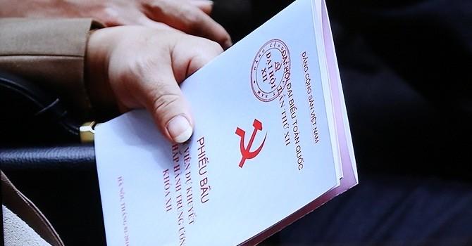 Chính thức công bố danh sách Ban chấp hành Trung ương khóa XII