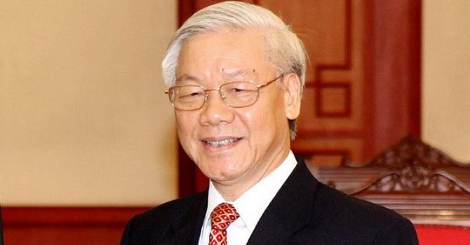 Đang bầu cử Bộ Chính trị, Tổng bí thư khóa XII