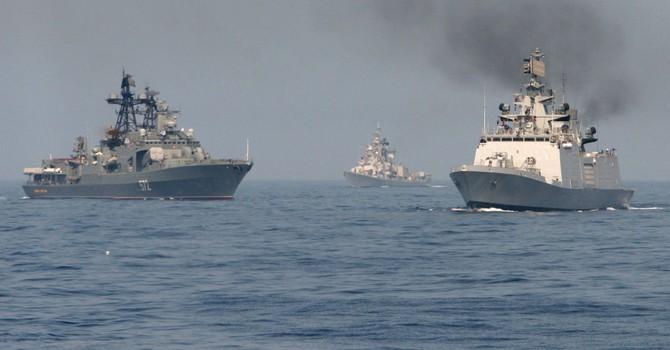 Nga sẽ điều loạt tàu chiến thuộc Hạm đội Thái Bình Dương tập trận ở Biển Đông