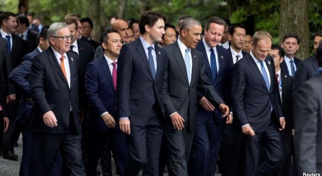 Biển Đông phủ bóng hội nghị G7