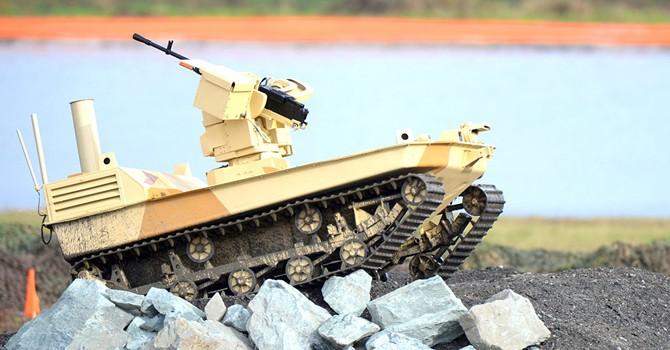 Bộ Quốc phòng Nga thử nghiệm robot trinh sát