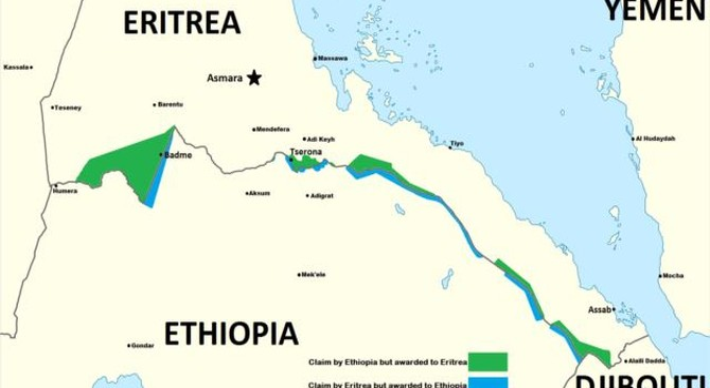 Giao tranh bùng ra ở biên giới Eritrea và Ethiopia
