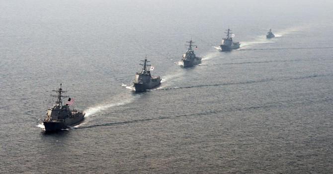 Mỹ mở rộng hoạt động sang Đông Á để đối phó với Trung Quốc