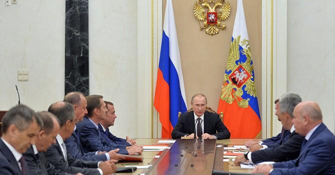 Ông Putin họp khẩn với Hội đồng An ninh Nga sau âm mưu khủng bố ở Crimea