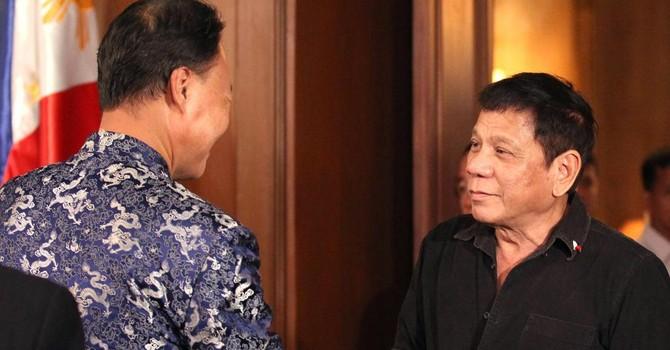 Biển Đông: Tổng thống Philippines sẽ đến Trung Quốc đàm phán song phương