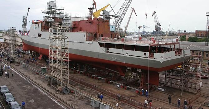 Ấn Độ tính mua 4 tàu khu trục dự án của Nga