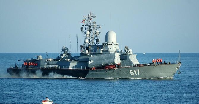 Nga điều tàu tên lửa thứ ba của Hạm đội Biển Đen tới Syria
