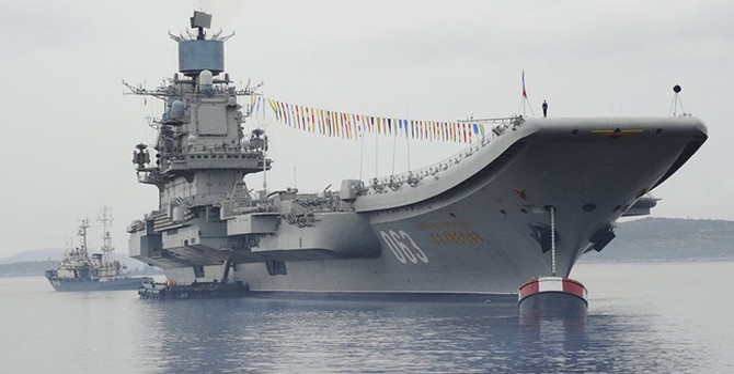 """NATO bị sốc khi """"Moscow đưa toàn bộ Hạm đội Biển Bắc tới Syria"""""""