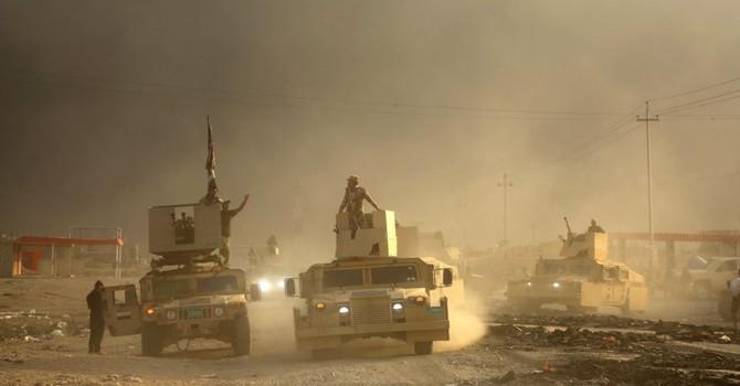 Tướng Mỹ hối thúc người Iraq tăng áp lực, tiến chiếm Mosul