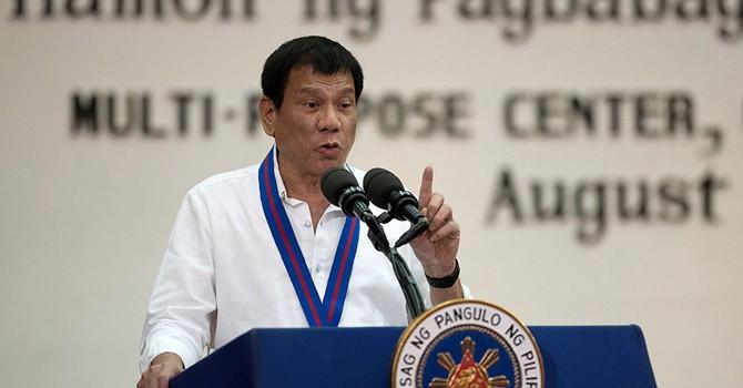 """Washington đáp trả tuyên bố """"tách khỏi Mỹ"""" của lãnh đạo Philippines"""