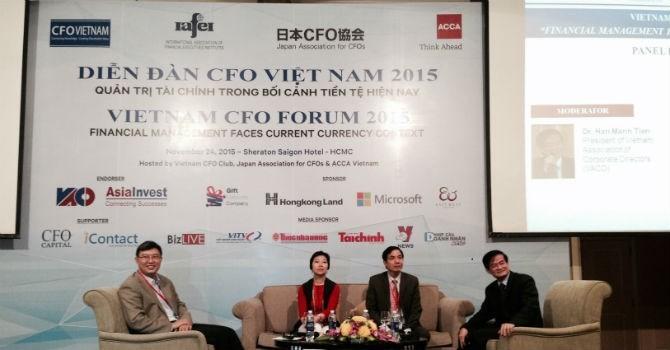 Hơn 300 nhà tài chính tham dự Diễn đàn CFO Việt Nam 2016
