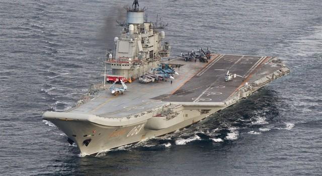 Moscow bác tuyên bố của NATO về động cơ Nga điều tàu sân bay đến Aleppo