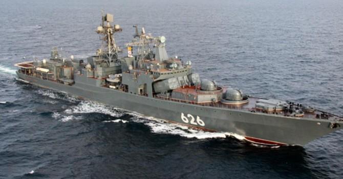 Moscow: Tàu ngầm Hà Lan theo dõi tàu chiến Nga tại Địa Trung Hải