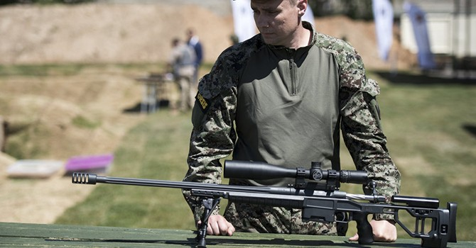 Vũ khí bắn tỉa của Nga