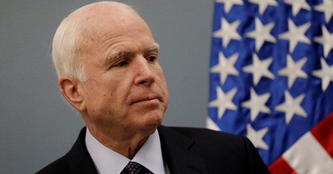 """Ông McCain kêu gọi Trump áp nguyên tắc """"hòa bình thông qua sức mạnh"""" chống Nga"""