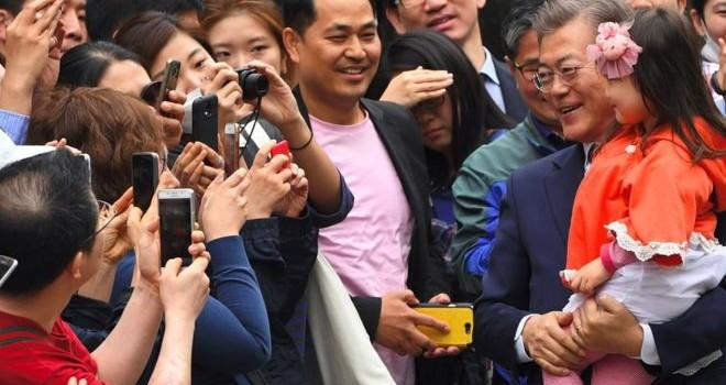 Tổng thống Hàn Quốc ăn cơm trưa 3 USD