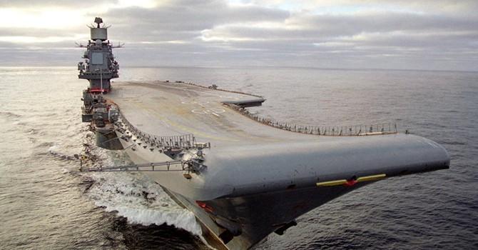 Vũ khí mới: Nga sẽ xây dựng hàng không mẫu hạm hiện đại