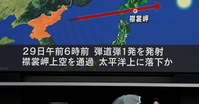 """Vụ Triều Tiên bắn tên lửa qua Nhật: Nga """"rất quan ngại"""", Trung Quốc nói """"một bước ngoặt mới"""""""