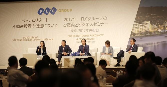 FLC gặp giới đầu tư Nhật: Hàng loạt cơ hội mới