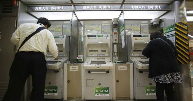 Máy ATM sắp hết thời ở Nhật Bản vì các ngân hàng phát hành tiền số?
