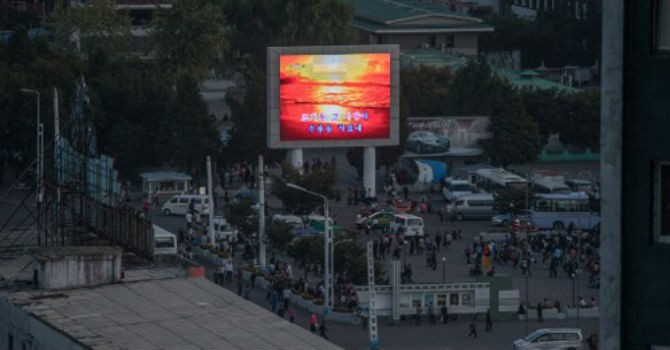 Đêm không điện ở thủ đô Bình Nhưỡng