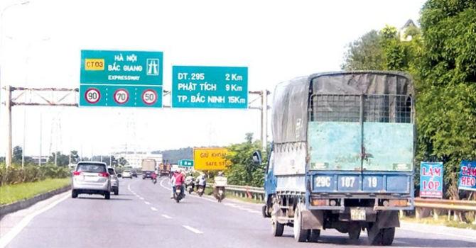 Bất thường cao tốc BOT Hà Nội - Bắc Giang