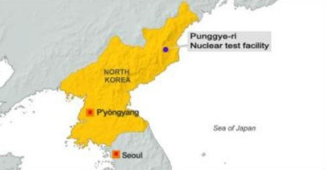 Nguy cơ rò rỉ phóng xạ khi hầm thử hạt nhân Triều Tiên sụp đổ