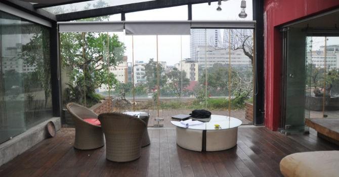 Căn nhà nằm lọt giữa khu vườn xanh mát giữa Hà Nội