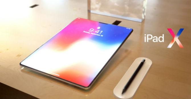 Hình dung mới về iPad X