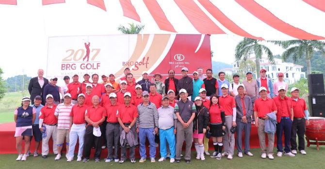 Khai mạc ngày hội golf truyền thống 2017 BRG Golf Hà Nội Festival với nhiều giải thưởng hấp dẫn