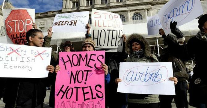Mặt tối của nền kinh tế chia sẻ: Uber & Grab tăng kẹt xe, Airbnb đuổi người thuê ra đường