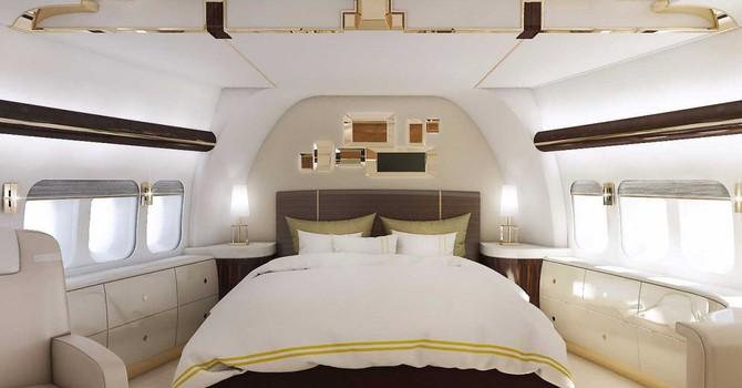 """""""Mãn nhãn"""" với máy bay tư nhân dành cho giới siêu giàu"""