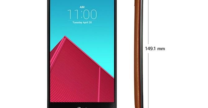"""""""Cận cảnh"""" LG G4 sẽ ra mắt vào ngày 28/4"""