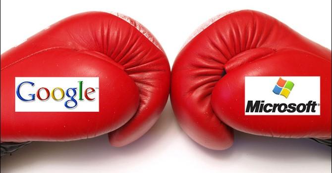 """Google, Microsoft """"tranh giành"""" vị trí thứ 2 sau Apple"""